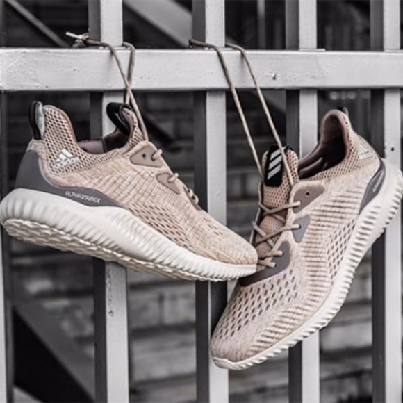 regarder 83ddb d03b6 adidas Alphabounce Beige Running Shoes